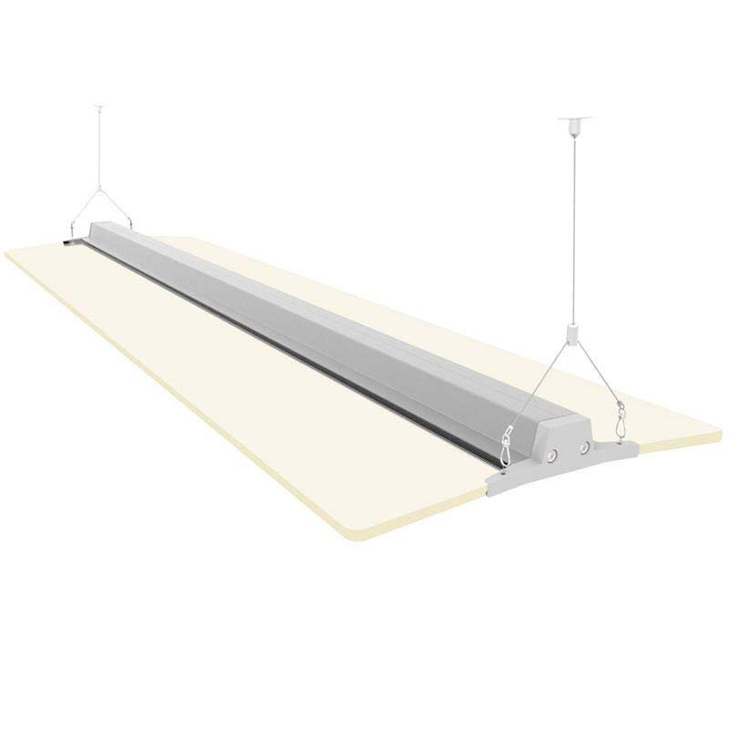 LEVIT suspend, 60W, 120cm, regulable 0-10V, Blanco frío, Regulable